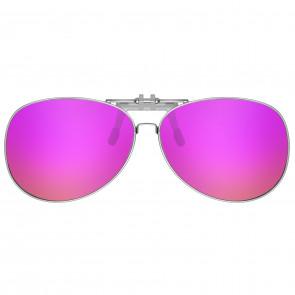 Polarizált fedél szemüveghez AVIATOR rózsaszín