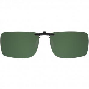 Polarizált fedél szemüveghez négyszögletes zöld