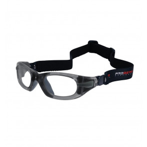 Sports glasses PROGEAR Eyeguard L, grey transparent
