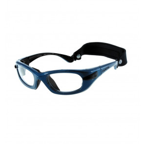 Sports glasses PROGEAR Eyeguard L, shiny metallic blue