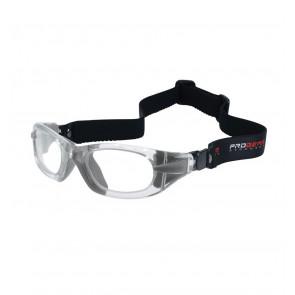 Sports glasses PROGEAR Eyeguard M, crystal transparent